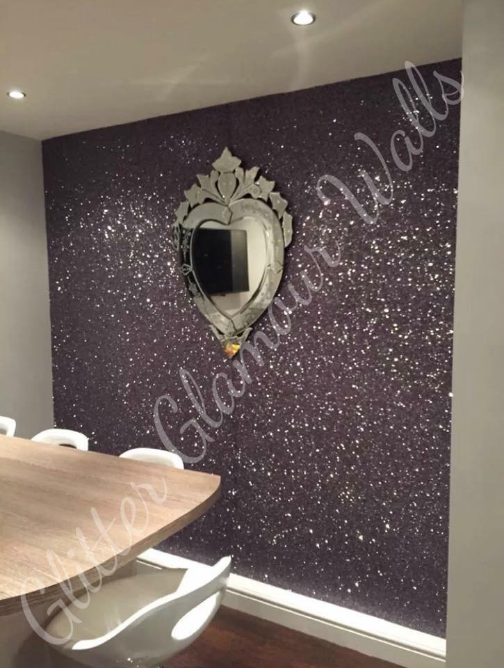 Pink glitter wallpaper for walls for Gold wall paint uk